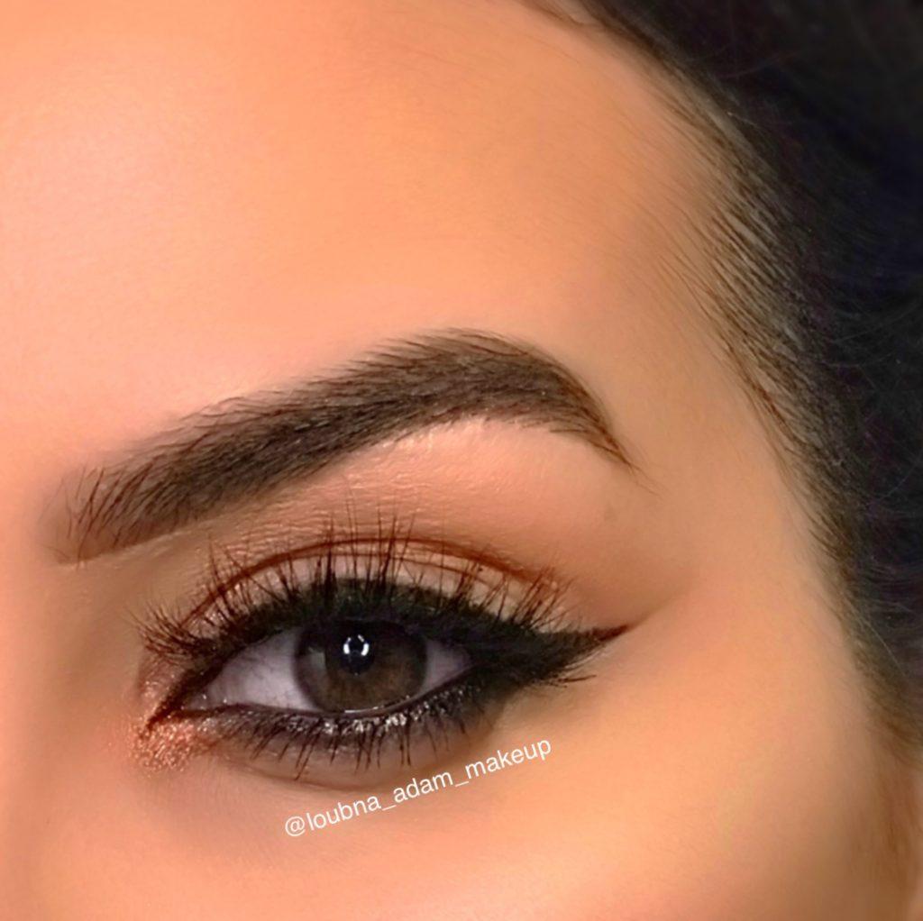 Exemples maquillage et coiffure - Loubna, maquilleuse pro Paris